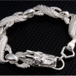 Cupronickel Alloy Dragon Bracelet